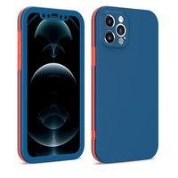 360 volle Schutz Stoßfest Stoßstange Telefon Fall Für iPhone 12 11 Pro Max X XR XS Max 7 8 Plus SE2020 12 Mini 3 In 1 Zurück Abdeckung