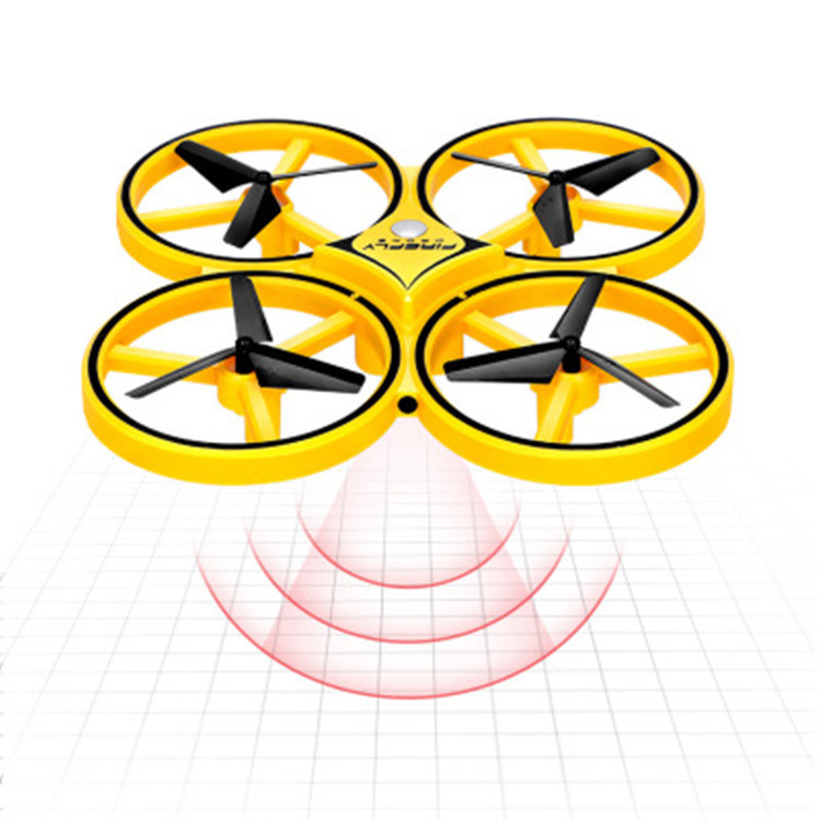 Hot Selling New Products Sensing Unmanned Aerial Vehicle Gesture Remote-control Drone Multi-Mode Remote Control Sensing Quadcopt