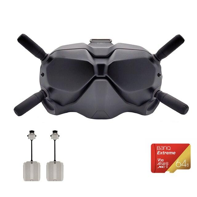 DJI FPV משקפי VR משקפיים עם ארוך מרחק שידור תמונה דיגיטלי השהיה נמוכה חזקה אנטי אפס Interfe מקורי ב המניה