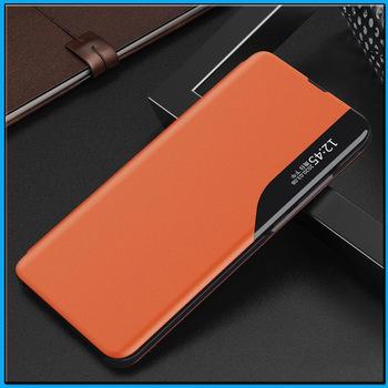 Magnetyczny skórzane etui z klapką portfel etui do Samsung Galaxy A91 A81 A71 A51 M31 M21 M80S M60S M30S M20 A70 A50 A40 magnetyczny pokrywa tanie i dobre opinie MCOLDATA CN (pochodzenie) Magnetic Leather Case I9300 GALAXY SIII Do telefonów GALAXY Note GALAXY Note II Galaxy Nexus