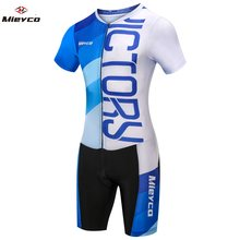 Cycling Clothing Man 2019 Triathlon Suit Men Jersey Set Outdoor Sport Clothes MTB Bike Skin suit Swimming Running Cycling Jersey(China)
