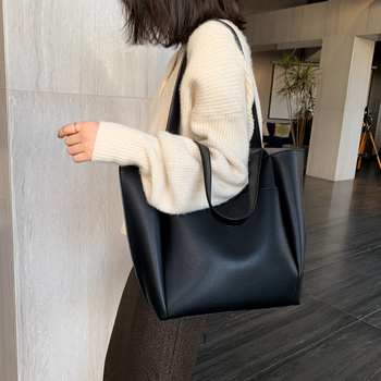 Hot sale women handbag large capacity shoulder bags   1