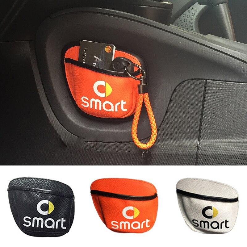 Автомобильные аксессуары Организатор сумка для хранения автомобилей для Smart Fortwo 453 451 450 Crossblade Кабриолет город-купе родстер Forjeremy