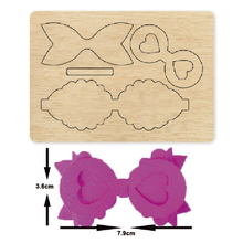 layer bow stitched Wooden die Scrapbooking 2020 New Cutting Dies fit common machine with cover pad