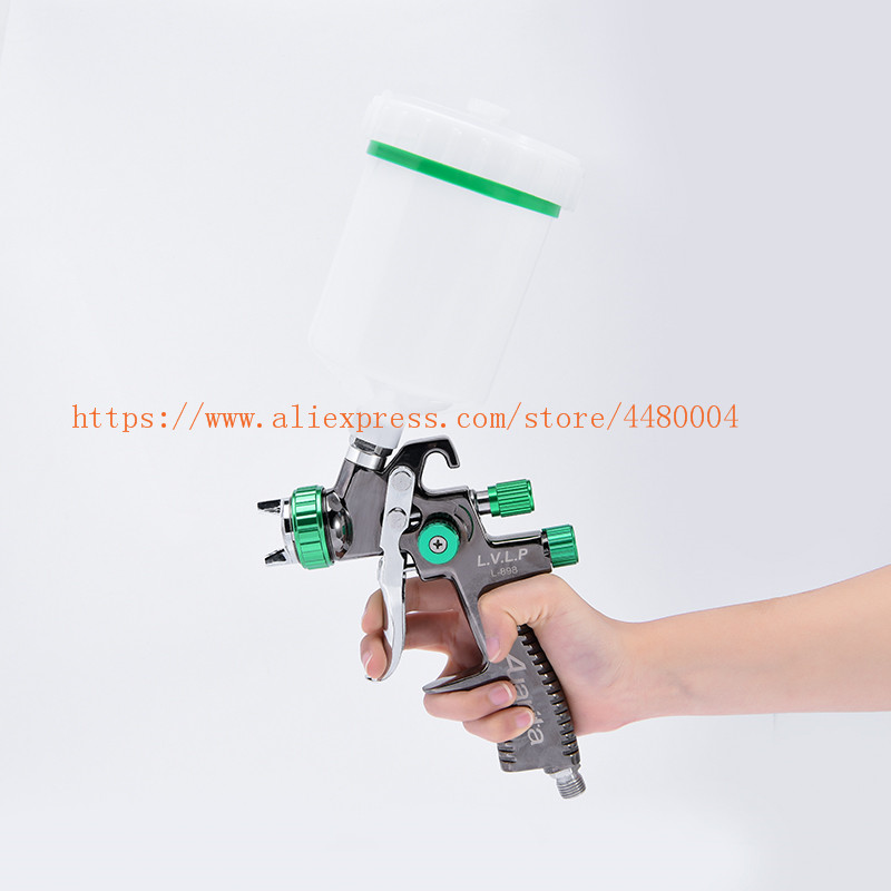 LVLP Spray Gun Auarita Manual spray gun 1 3mm 600CC Gravity spray gun with spray gun accessories