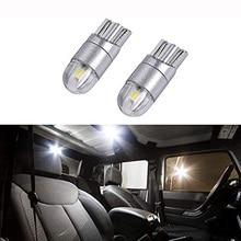 цена на 194 168 T10 W5W LED Light Bulb DC12/24V Super Bright 6000K White Interior Bulb Car Side Wedge Light Clearance Light Dome Light