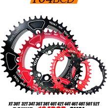 Wheel Bicycle Bike Chainring VXM Narrow Oval 38T 104bcd Crank 48T 42T 46T MTB 36T 34T