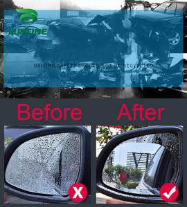 Protective-Film Car-Sticker Car-Rearview-Mirror Anti-Fog Waterproof 2PCS