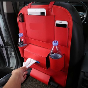 Image 3 - Car Rear Seat Storage  Box Multi pocket Storage Bag for Cadillac XTS SRX ATS CTS/Renault Koleos Fluenec Latitude