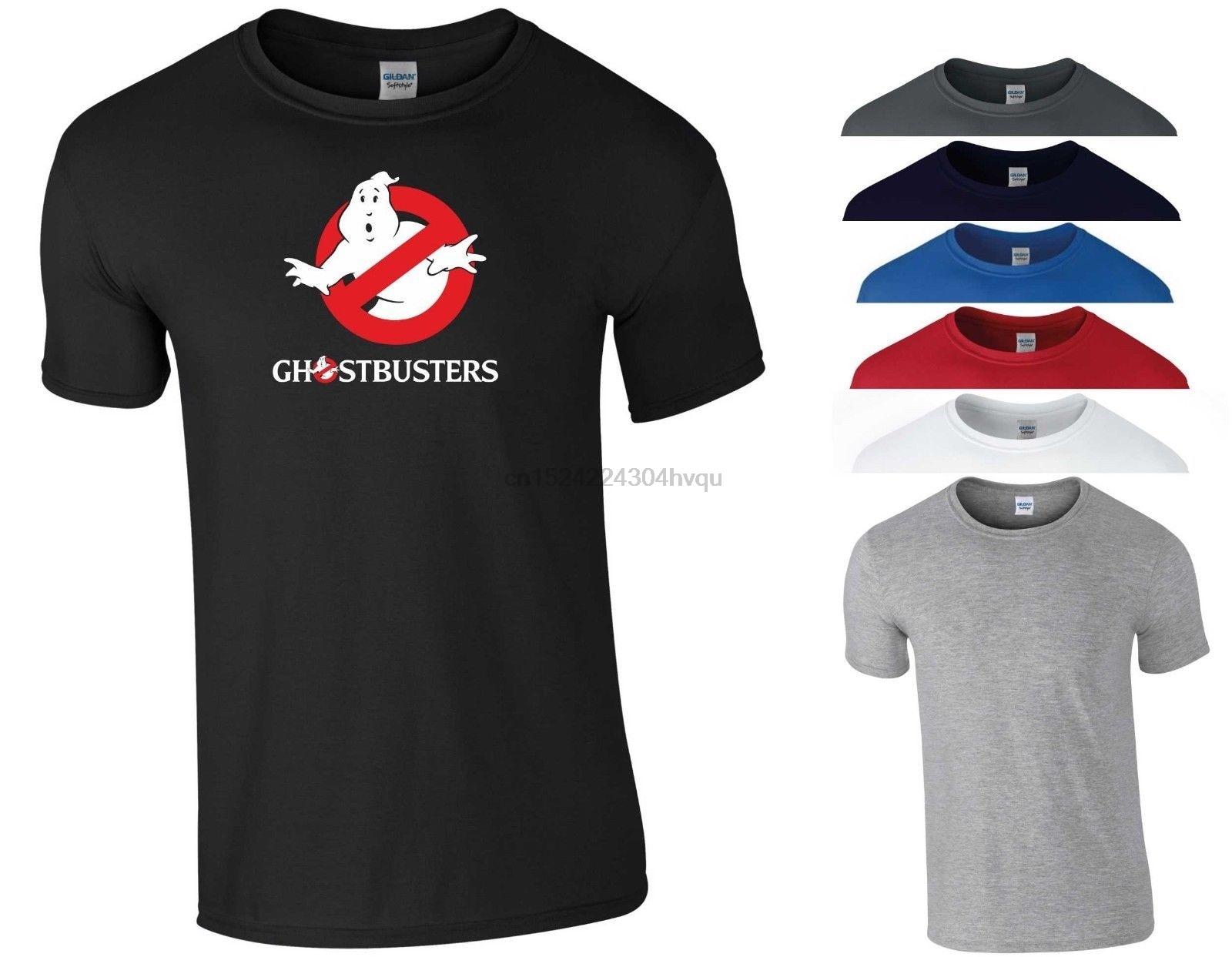 Ghostbusters T Shirt Classic Retro Movie Fans Funny Joke Birthday Gift Men Top