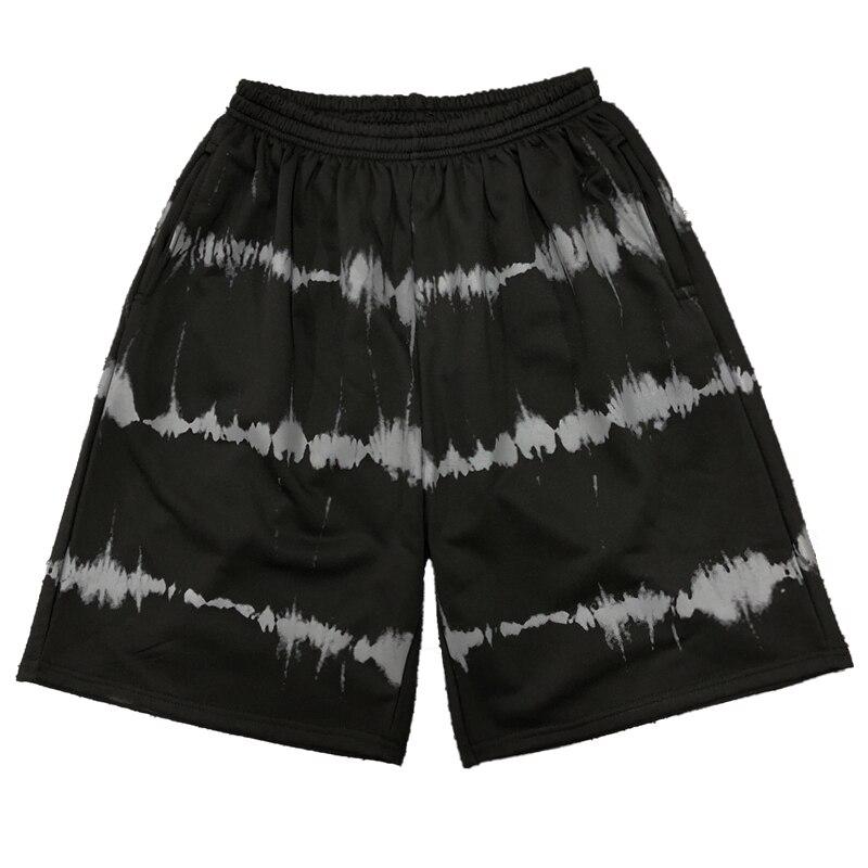 2020 Summer Couple Casual Shorts Harajuku Hip Hop Streetwear Shorts Checkerboard Loose Shorts For Men & Women Black Purple