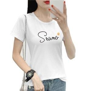 Women's O-Neck  t-shirt Harajuku Love T Shirt Women Ladies Graphic T Shirts Women 2020 Summer Female  Clothes