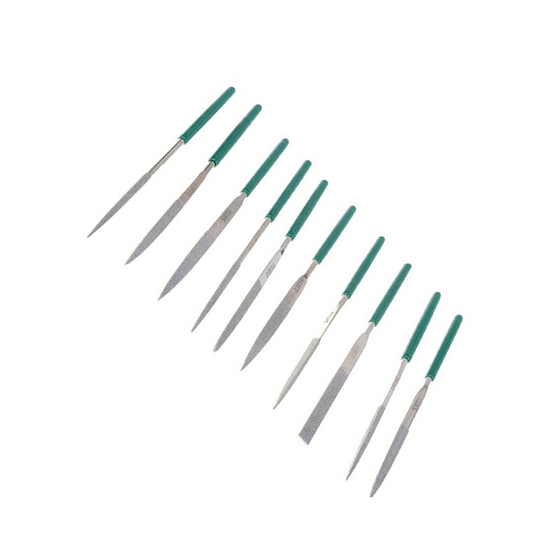 Фото - SATA 03810 For Needle (set) 10пр. Different types and sectional (140mm) straight, Diamond. b014 b graceful inlaid white zircon different types new gift bracelet