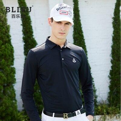 2020new golf shirt men fast dry golf sports long sleeves shirt golf clothing