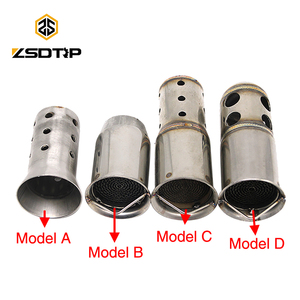 ZSDTRP 1pc Refit Motorcycle Exhaust Pipe Catalyst DB Killer Muffler Removable Silencer Escapes for AK SC AR GP Yoshimura(China)