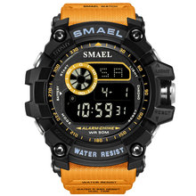 Men's Watches Swimming-Military-Wristwatches SMAEL Sports Multifunction Waterproof