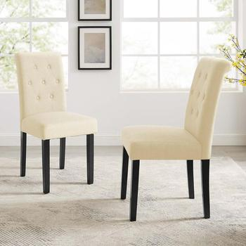 Fabric Dining Chair  1