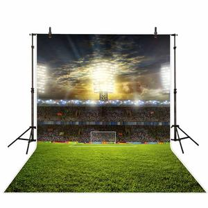 Image 3 - Allenjoy Real Madrid photocall background football field Soccer birthday sport communion party photocall photophone backdrop