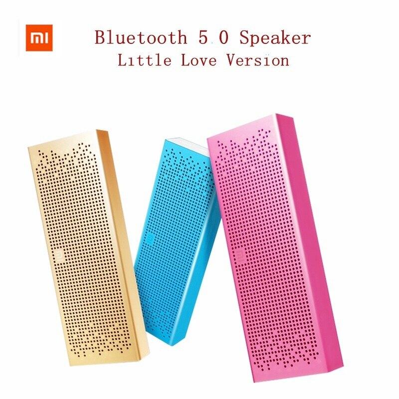 Xiaomi Bluetooth 5.0 haut-parleur Mini sans fil en métal stéréo Portable mains libres petit amour Version musique lecteur MP3