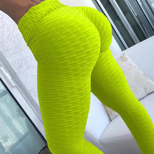 10 colors women Hot Yoga Pants White Sport leggings Push Up Tights Gym Exercise High Waist Fitness Running Athletic Trousers hot women bubble push up hip yoga pants sexy high elastic sport leggings tights gym exercise high waist fitness running trousers