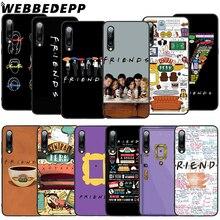 WEBBEDEPP Friends Season TV Soft TPU Case for Xiaomi Mi 6 8 A2 Lite 9 A1 Mix 2s Max 3 F1 9T A3 Pro CC9E Cover