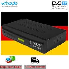 Vmade DVB T2 terrestrial receiver HD 1080P DVB T2 TV Tuner TV Box DVB T2 H.265 HEVC support youtube USB WIFI Hot sales Germany