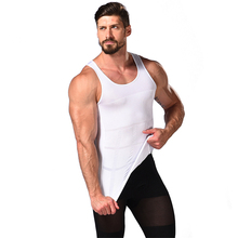 Men Slim Body Lift Shaper Body Tummy Shapers Vest Underwears Corset Waist Muscle Girdle Shirts Fat Burn Posture Corrector HOT burn the fat feed the muscle
