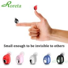 Roreta Mini Draadloze Bluetooth Oortelefoon Stereo Noise Sport Headset Met Microfoon Oordopjes Oortelefoon Bluetooth 5.0 Voor Android IOS