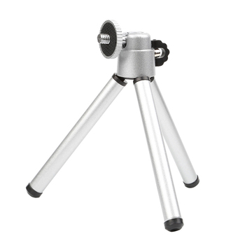 Flexible Mini Aluminum Tripod for iPhone X 8 7 6S Xiaomi Samsung Huawei Cell phone Tripod Stand For Mobile Smartphone image