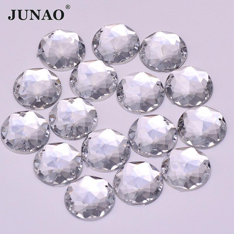 100pcs sew on 6*12mm clear  crystal glass flatback rhinestones beads