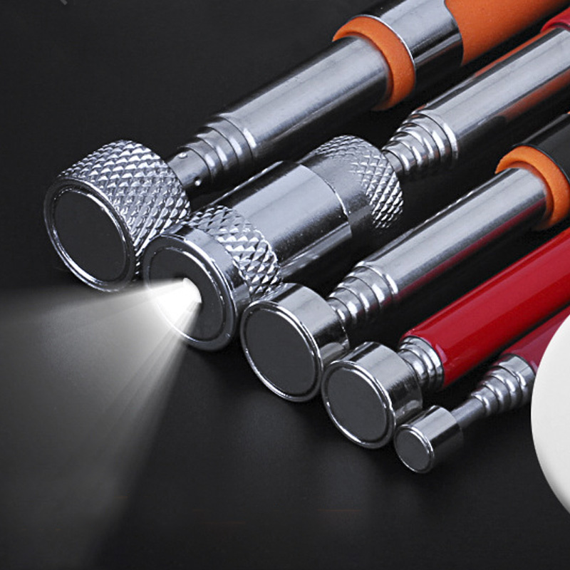 8 LB Flexible Heavy Duty Magnetic Telescopic Magnet Magnetic Grip Pick-up Tool 510mm Extendable Long Reach Pen C1348 D