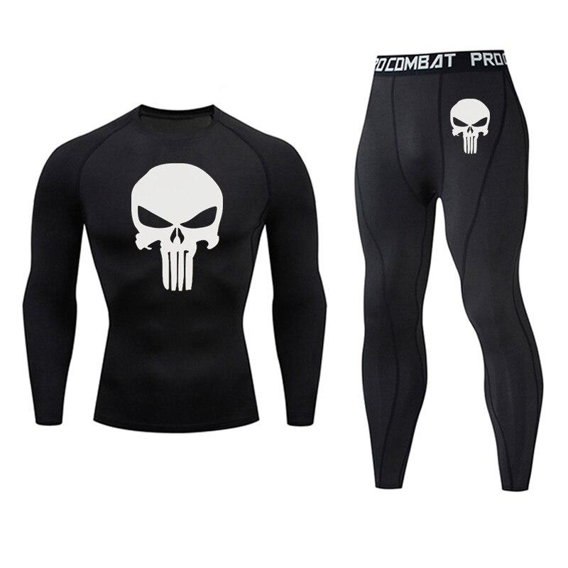 Dark Blue - Men's bodybuilding jogging suit