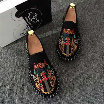 Spring Fashion Flats Shoes Espadrilles Loafers Light Hard-Wearing 2019 Man Women Canvas Harajuku Rubber Canvas Embroider Shoes hee grand 2017 canvas shoes woman platform loafers embroider creepers spring lace up flats casual flowers women shoes xwf533