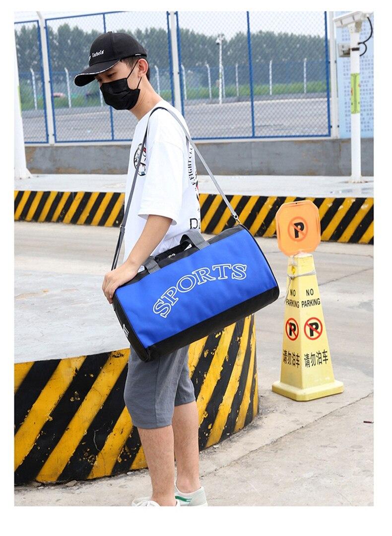 ombro saco de bagagem esportes fitness bolsas
