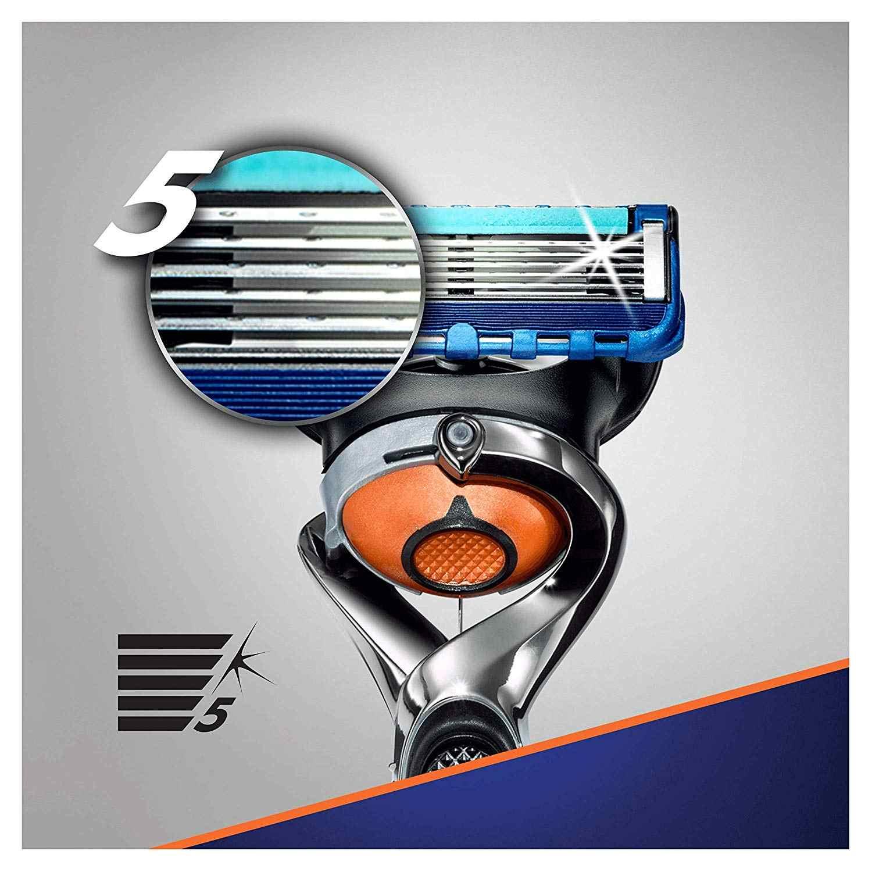 ที่ถอดออกได้มีดโกนใบมีดสำหรับผู้ชาย Gillette Fusion ProGlide ใบมีดสำหรับโกนหนวด 12 เปลี่ยนได้เทป Shaving Fusion ตลับหมึก