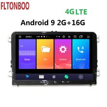 "9"" Android 9 Car radio GPS Navigation for VW Volkswagen Passat B5 Tiguan Jetta Touran GOLF,Polo,4G LTE steering wheel,map canbus(China)"