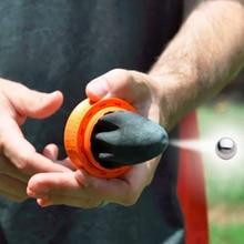 Карманная Рогатка для игр на открытом воздухе, Охотничья катапульта, развлекательные игрушки для кемпинга, мини лук, стрела со стальным шар...