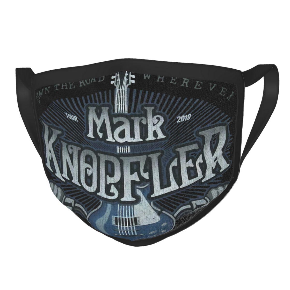 Mark Knopfler Guitar Tour 2019 Mens Black Breathing Valve New Women Men Mask