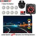 Koorinwoo Latest OPS System Dynamic Trajectory Parktonic Car Video Parking Sensors Parktronic Parking Camera Front camera Rear