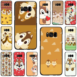 Chip and Dale Silicone phone case for Galaxy S6 S7 Edge S8 S9 S10 Plus S10e Note 8 9 J6 A6 Plus A8 A9 2018(China)