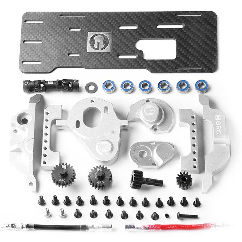 GRC TRX4 G2 moteur pré-boîte de vitesse avant moteur Kit T4 moteur de Simulation V8 monté à l'avant