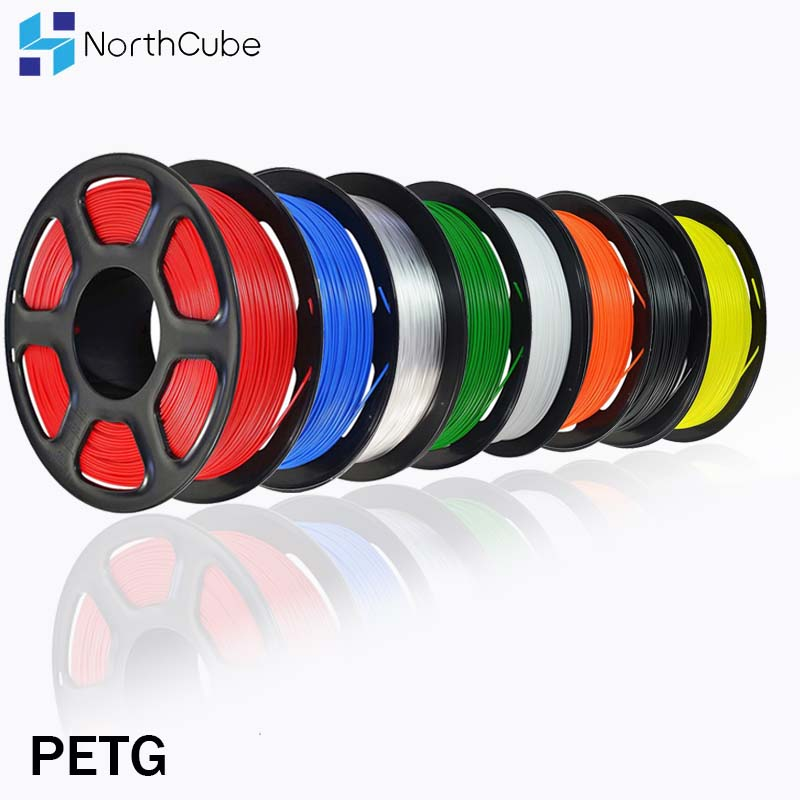 3D Printer Filament PETG 1 75mm 1kg 2 2lbs Plastic PETG Filament Consumables PETG Material for 3D Printer Filamento