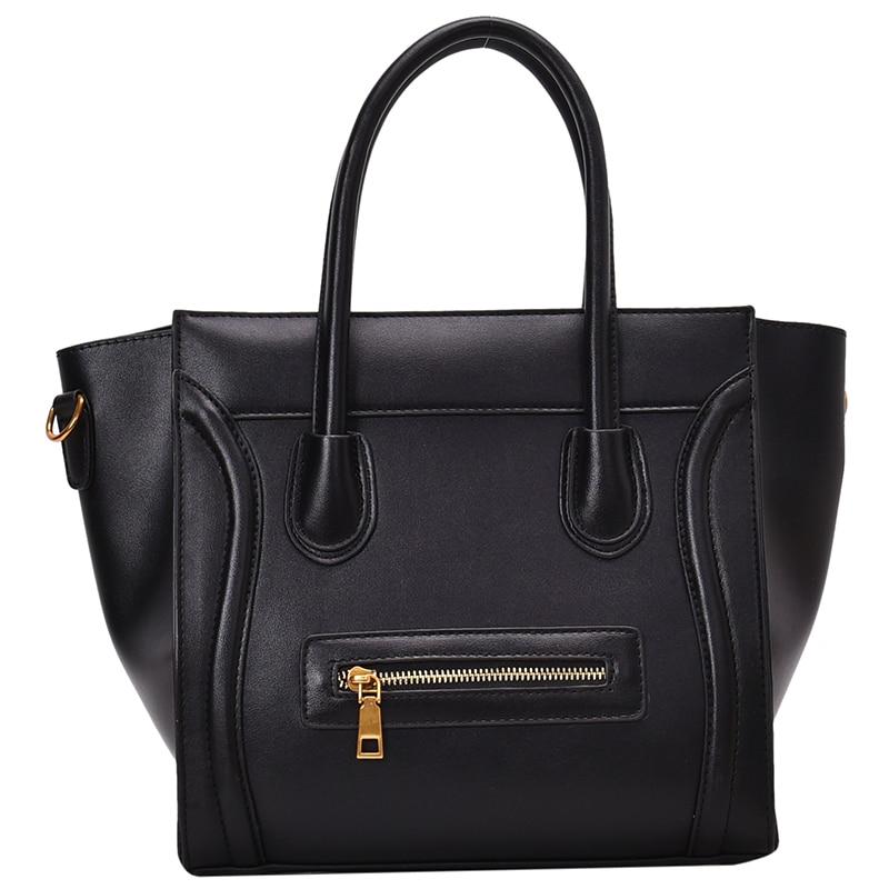 Luxury Designer Pu Leather Handbags Fashion Large Capacity Ladies Shoulder Crossbody Bag High Quality Female Tote Messenger Bags
