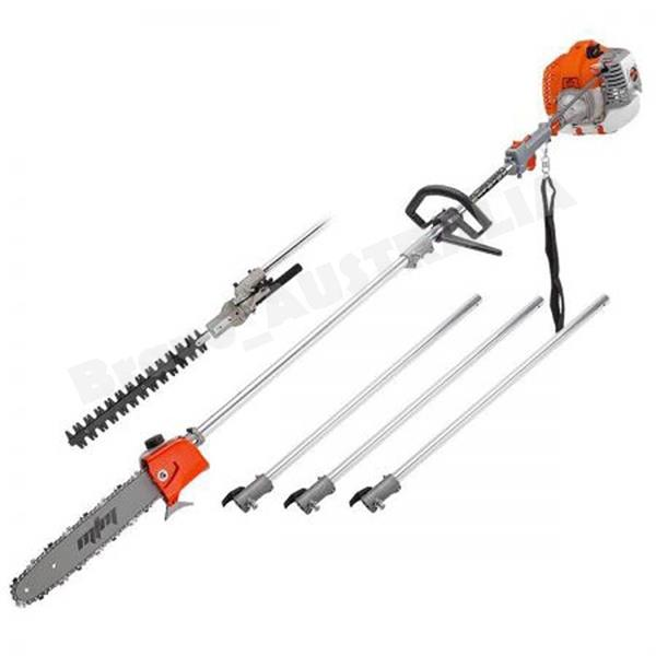 New Model  2 in 1 Pole Chain sawHedge Trimmer With 3PcsX80CM Extension As Bonus