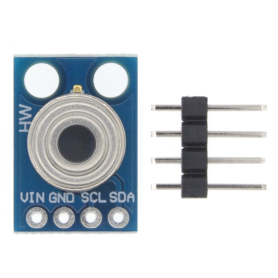 GY-906 MLX90614 MLX90614ESF Non-contact Infrared Temperature Sensor Module IIC Interface IR Sensor  Compatible