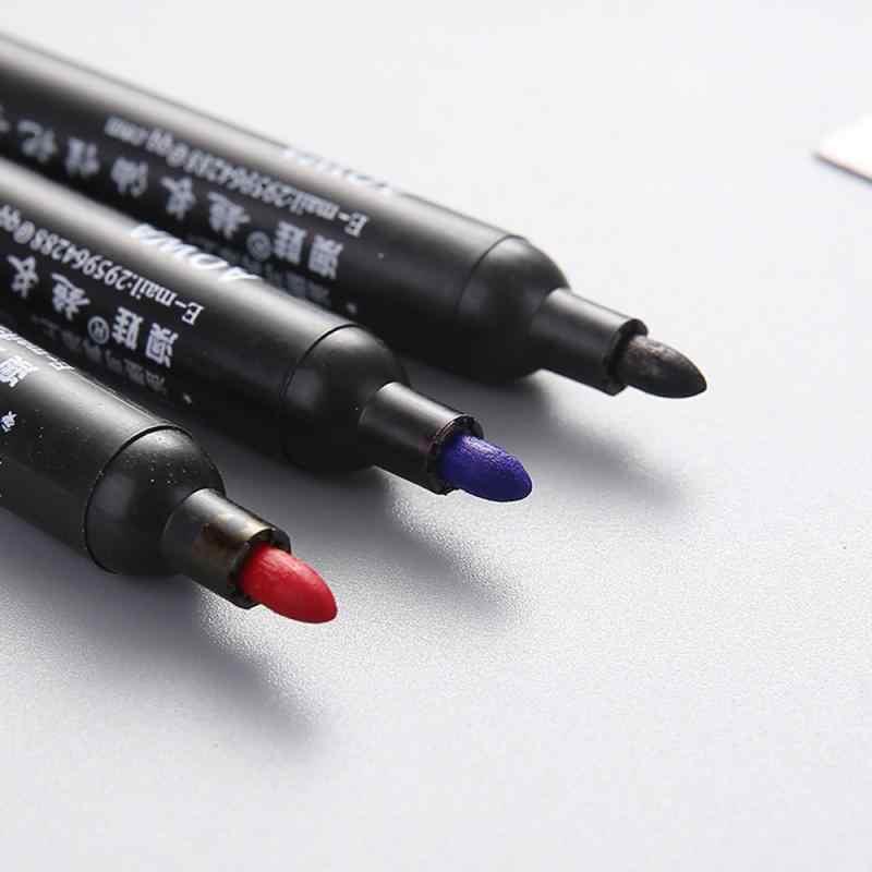 עמיד למים צבע קבוע מרקר עט לרכב צמיג צמיג לדרוך גומי מתכת מנגה ציור עטי אספקת אמנות