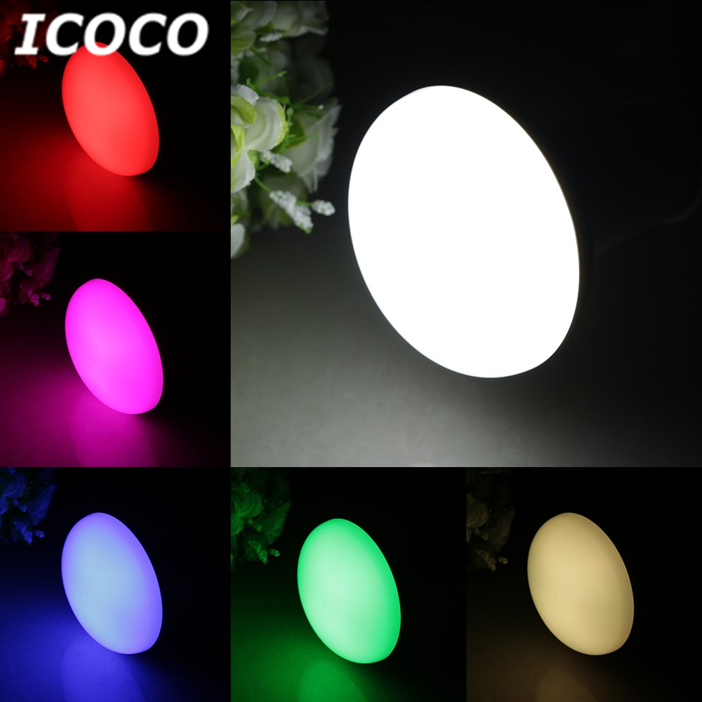 ICOCO <font><b>E27</b></font> 2.4G Milight Wifi controller RGBW Remote 6W 9W <font><b>PAR30</b></font> LED Bulb RGBW Lamp High Quality Hot Sale Flash Deal Wholesale image