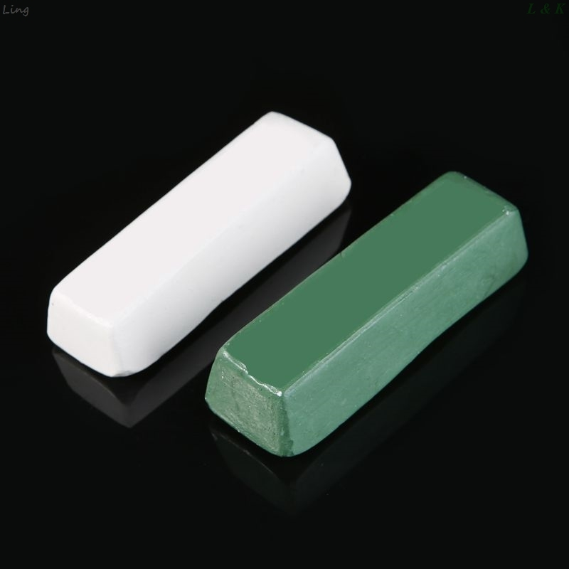 Compound Polishing Paste Wax Metal Brass Grinding Abrasive Soap Buffing Wax Bar U50A