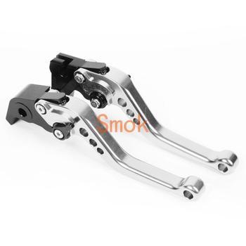 Accesorios de motocicleta SMOK palancas de freno para APRILIA MANA 2007 2008 2009 2010 2011 2012 10 colores aleación de aluminio CNC