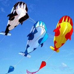 Darmowa wysyłka delfin miękki latawiec z nylonu linka do latawca animowane latawce wędkarstwo nadmuchiwane latawiec zabawki do zabawy na zewnątrz fly Parafoil octopus|Latawce i akcesoria|   -